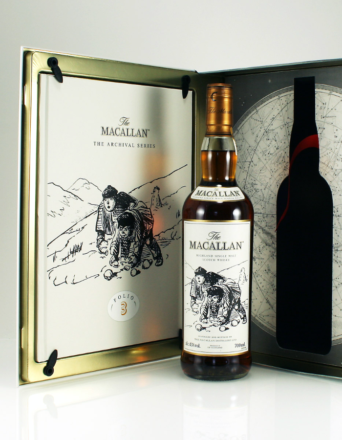 The Macallan Archival Series Folios 1 to 5